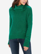The Limited Cowl Neck Cable Knit Pullover