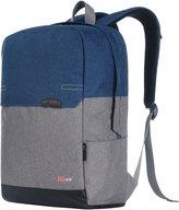 Taikes Unisex PU Leather Backpack