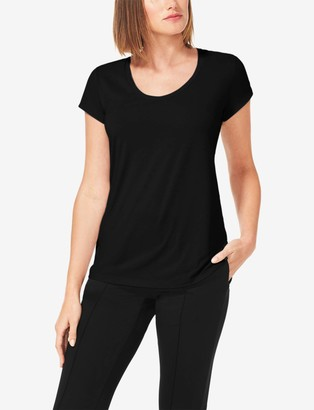 Tommy John Women's Go Anywhere Quick-Dry Scoop Neck Tee