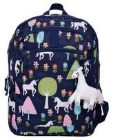 "Crckt 16.5"" Kids' Unicorn Print Backpack - Navy"