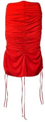 Marques Almeida Marques' Almeida Ruched Voile Skirt