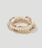 LOFT Pearlized Stretch Bracelet Set