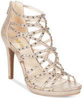Bar III Brooke Embellished Sandals, Created for Macy's