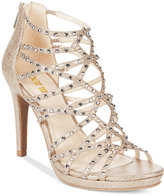Bar III Brooke Embellished Sandals, Only at Macy's