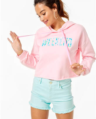 Lilly Pulitzer Karter Cropped Hoodie