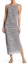 Theory Intrella Space Dye Striped Maxi Dress