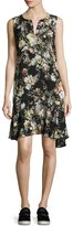 Velvet by Graham & Spencer Velvet Nerissa Floral-Print Dress, Multi