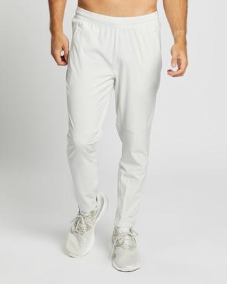 adidas Men's Grey Pants - AEROREADY 3-Stripes Pants - Size L at The Iconic