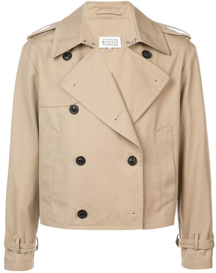 Maison Margiela double breasted cropped jacket