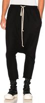 Rick Owens Jersey Shorts