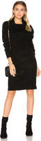 Bobi Cashmere Cowl Neck Sweater Dress