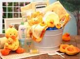 Gift Basket Dropshipping Gift Basket Drop Shipping 89091-B Bath Time Baby New Baby Basket - Blue