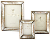 Twos Company Two'S Company Gold Leaf Photo Frames Set of Three