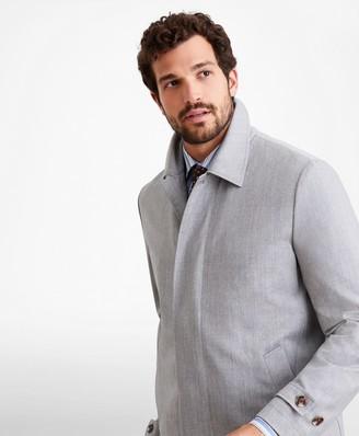 Brooks Brothers Golden Fleece Merino Wool Trench Coat