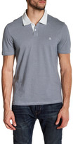 Original Penguin Short Sleeve Feeder Stripe Polo