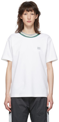 Acne Studios White Elsom Face T-Shirt