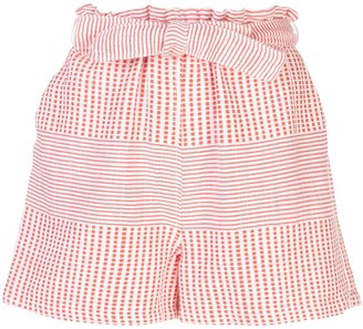 Lemlem Semira tie belt shorts