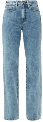 Frame Le Jane Straight-leg Jeans - Denim