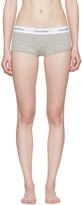 Calvin Klein Underwear Grey Modern Boy Shorts