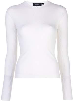 Theory long sleeved sweatshirt