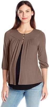 Maternal America Women's Maternity and Nursing Camigan Shirt