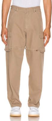 Jacquemus Peach Pants in Beige | FWRD