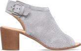 Carvela Audrey cut-out suede ankle boots
