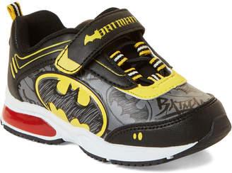 Batman Toddler Boys) Black & Yellow Character Light-Up Sneakers