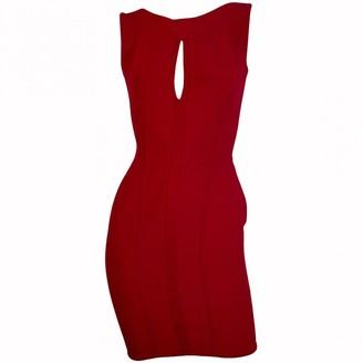 N. Herve L Leroux \N Red Viscose Dresses