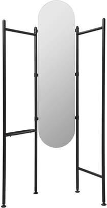 Umbra Vala Full Length Mirror Clothing Valet