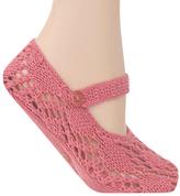 Renoir Rose Mary Jane Slipper Socks
