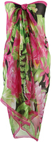 Colorful Floral Versatile Pareo/Sarong Cover-Up