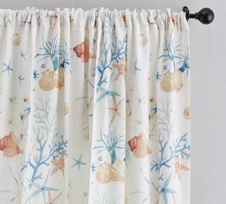 Pottery Barn Oriana Print Curtain