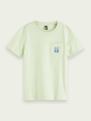 Scotch & Soda Short-sleeved organic cotton T-shirt | Boys