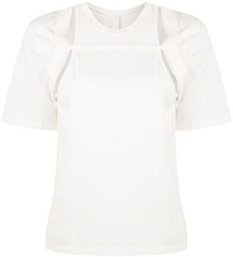 Dion Lee rib holster T-shirt