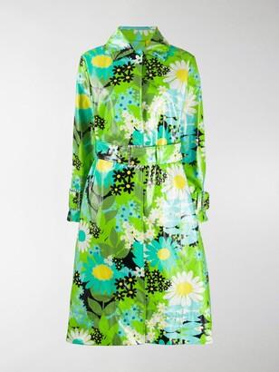 MONCLER GENIUS x Richard Quinn Charlie floral trench coat
