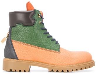 Buscemi colour block boots