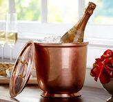 Pottery Barn Copper Lidded Ice Bucket