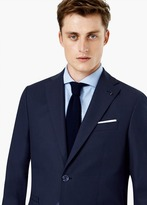 Mango Outlet Slim-Fit Cotton Suit Blazer