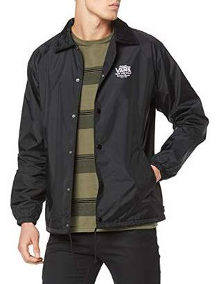 Vans Men's Torrey Jacket, (Black/White)