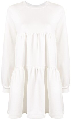 Cynthia Rowley Vail Cozy gathered swing dress