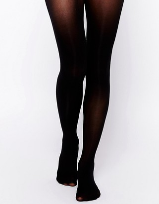 Gipsy 50 denier invisible waistband shaper tights-Black