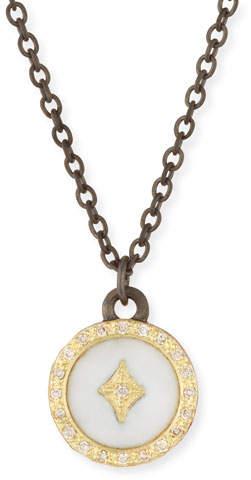 Armenta Old World 18k Diamond Star Pendant Necklace