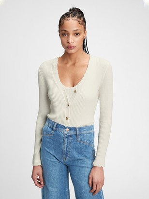 Gap Ribbed Cardigan