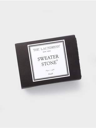 White + Warren The Laundress Sweater Stone