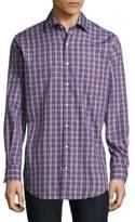 Peter Millar Mitchell Plaid Casual Button-Down Shirt
