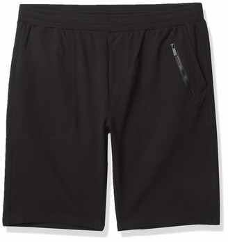 Sean John Men's Big & Tall Ottoman Knit Shorts