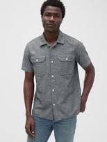 Gap Camp Short Sleeve Shirt