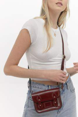 The Cambridge Satchel Company Maroon Tiny Satchel - red at Urban Outfitters