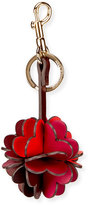 Anya Hindmarch Folded Heart Leather Key Chain
